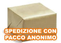 PACCO ANONIMO SENZA ALCUNA INDICAZIONE DEL CONTENUTO